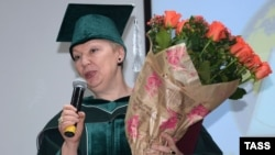 """Olga Vasilyeva has promised to support teachers, who struggle with low salaries, but critics are worried by her apparent praise of Stalin and emphasis on """"spiritual values,"""" among other things."""