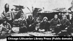 Депортированные в Сибирь литовцы