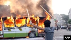 إحتجاجات في شوارع طهران