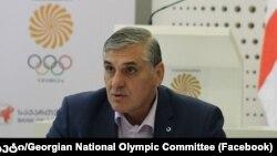 Президент Национального олимпийского комитета Грузии Лери Хабелов