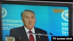 President Nursultan Nazarbaev or Dorian Gray?