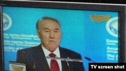 President Nursultan Nazarbaev or Dorian Gray?