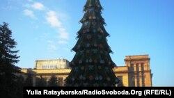 Ялинка в Дніпропетровську, 20 грудня 2015 року