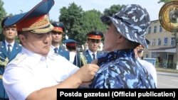 Генерал-майор Дмитрий Пан, бывший Командующий караульными войсками МВД Узбекистана.