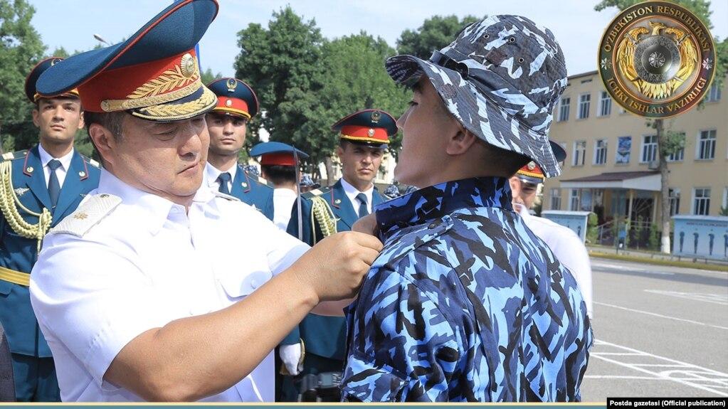 ИИВ Қоровул қўшинлари қўмондони, генерал-майор Дмитрий Пан