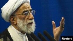 The chairman of the Guardians Council, Ayatollah Ahmad Jannati
