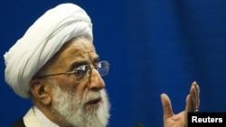 Iran's superannuated Ayatollah Ahmad Jannati