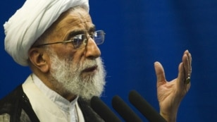 The chairman of the Guardians Council, Ayatollah Ahmad Jannati
