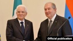 Իտալիայի և Հայաստանի նախագահները, արխիվ
