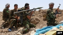 Իրաք - Շիա աշխարհազորայինները Անբար նահանգում «Իսլամական պետության» զինյալների դեմ մարտի ժամանակ, 19-ը մայիսի, 2015թ․