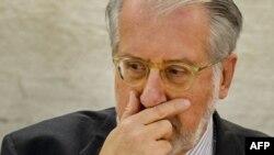 Пауло Пинейро, глава комиссии ООН, расследующей нарушения прав человека в Сирии.