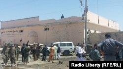 Mesto napada u Helmandu