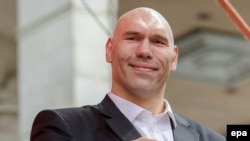 Former heavyweight boxer Nikolai Valuev is among many athletes who have represented the ruling United Russia party in parliament.