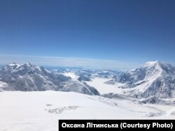 Фото з гори Деналі. Архів Оксани Літинської
