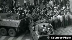 Протесты в августе 1969 в Праге