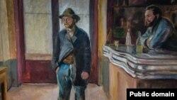 Эдвард Мунк «У тавэрне» (1890)