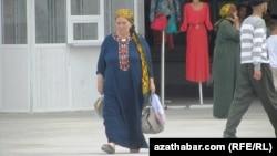 Türkmen zenany.