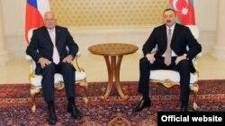 Ադրբեջանի եւ Չեխիայի նախագահների հանդիպումը Բաքվում, 17-ը մայիսի, 2011թ.