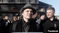 """Лев Гяммер, активист организации """"Протеcтный Кузбасс"""" (Архивное фото)"""