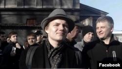 """Лев Гаммер, координатор """"Протеcтного Кузбасса"""", архивное фото"""