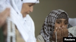 Scores of Tajik Muslim women have been treated for skin irritation around Kulob. (file photo)