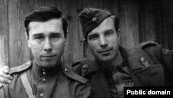Фронтовые операторы Кенан Кутуб-заде (слева) и Владимир Сущинский