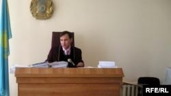 Судья казахстанского суда. Иллюстративное фото.