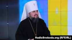 Metropolitan of Kyiv and All Ukraine Epifaniy (file photo)