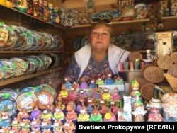 Людмила и владимирские сувениры