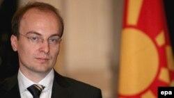 Македонскиот министер за надворешни работи Антонио Милошоски