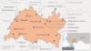 Mordovia -- Map of Tatarstan in Russian