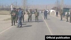 Кыргызско-таджикская граница, 15 марта 2019 г.