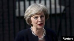 Kryeministrja e re e Britanisë së Madhe, Theresa May.