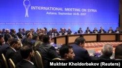 Переговори щодо Сирії в Астані, Казахстан, 15 вересня 2017 року