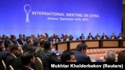 Переговоры по Сирии в Астане (15 сентября 2017 г.)