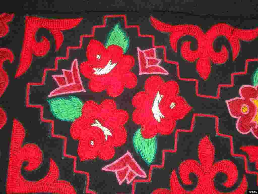 Многообразие кыргызского орнамента #11