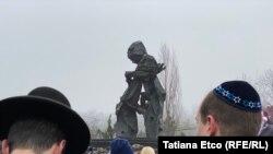 Comemorarea victimelor Holocaustului la Chișinău