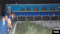 """Первая катастрофа """"Невского экспресса"""", август 2008 г"""