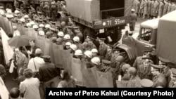 Архівна фотографія, 1 травня 1991 року, Київ