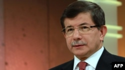 Turkey -- Foreign Minister Ahmet Davutoglu gives an interview to state-run TRT Television in Ankara, 24Jun2012