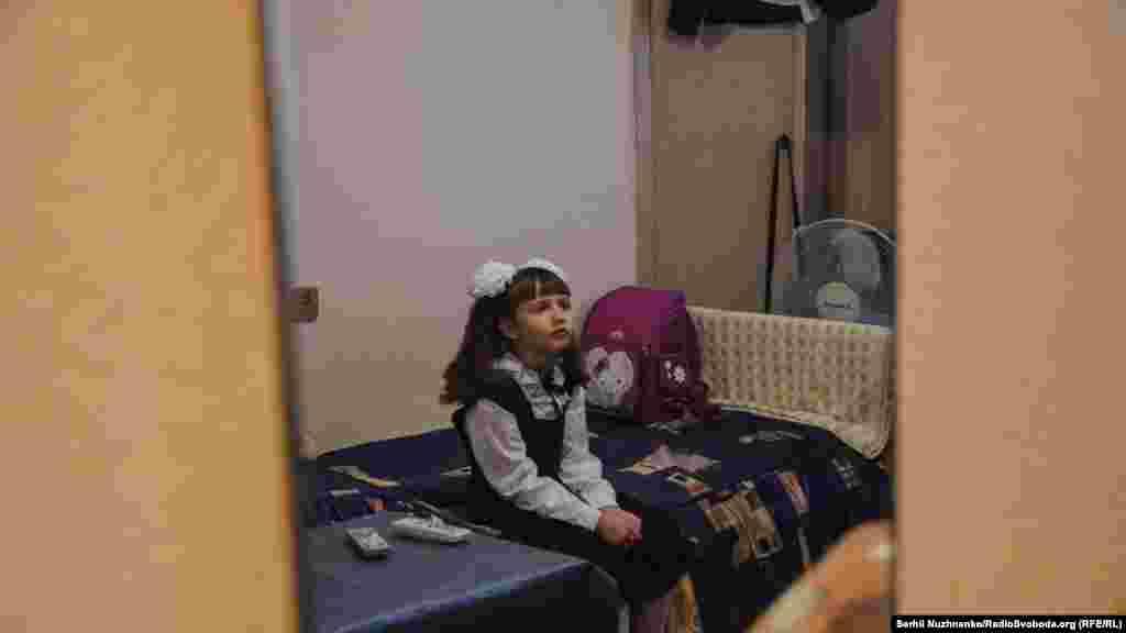 Першого вересня Даша пішла до першого класу. Підготовка до «Першого дзвоника» розпочалася з самого ранку. Школу для Даші вибрали ту, що розташована поблизу нового будинку Водінових