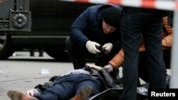 В центре Киева убит Денис Вороненков. 23 марта 2017 года