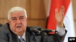 ولید معلم، وزیر امور خارجه سوریه