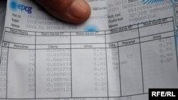 Račun za struju, Foto: Savo Prelević
