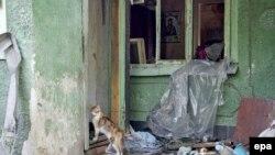 Зруйнований будинок на Донеччині (ілюстраційне фото)