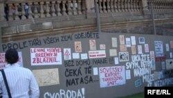 Обвинительный список в адрес компартии Чехии и Моравии состоит из 76 пунктов, включая измену родине после оккупации Чехословакии странами Варшавского договора в 1968 году.