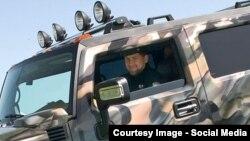 Кадыров Рамзан ву машена чохь.