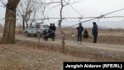 """На пограничной заставе """"Чарбак"""" в Баткенской области Кыргызстана. 6 января 2013 года."""