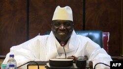 Гамбияның бұрынғы президенті Яйя Джамме. 2 желтоқсан 2016 жыл.