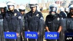 Түркия полициясы. (Көрнекі сурет)